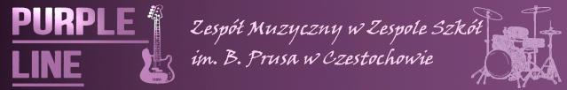 Zespół muzyczny Purple Line w ZSPRUS